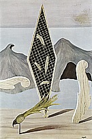 Magritte : Left Behind by the Shadow 1926 : $389