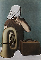 Magritte : The Central Story 1928 : $395