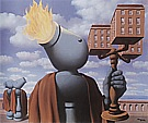 Magritte : The Cicerone 1947 : $365