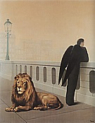 Magritte : Homesickness 1940 : $405