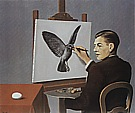 Magritte : Clairvoyance Self Portrait  1936 : $369