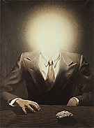 Magritte : Portrait of Edward James 1937 : $369