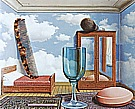 Magritte : Personal Values 1951/52 : $409