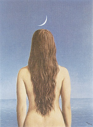 Magritte The Evening Gown 1954 - Reproduction Oil Paintings