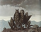 Magritte : The Companions of Fear 1942 : $379