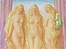 Magritte : The Sea of Flames 1945/46 : $345