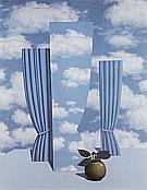 Magritte : Le beau monde 1962 : $405