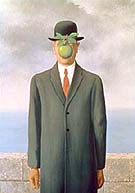 Magritte : The Son of Man : $349