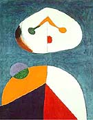 Joan Miro : Portrait 1938 Retrato : $369