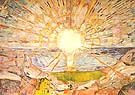 Edvard Munch : The Sun 1909/11 : $345