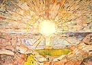 Edvard Munch : The Sun 1909/11 : $345