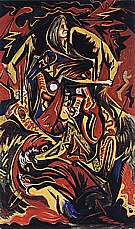 Jackson Pollock : Composition with Woman c1938-41 : $399