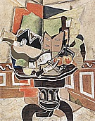Georges Braque : The Round Table 1929 : $389