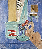 Matisse : Goldfish and Sculpture 1912 : $395