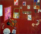 Matisse : The Red Studio 1911 : $345