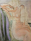 Matisse : Seated Pink Nude 1935 : $345