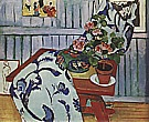 Matisse : Still Life with Geraniums 1910 : $345