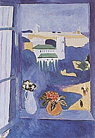 Matisse : Window at Tangier 1912 : $395