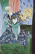 Matisse : Arum Iris and Mimosa 1912-3 : $355