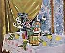 Matisse : Still Life Fruit and Flowers 1925 : $409