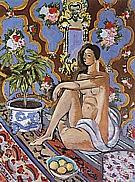 Matisse : Decorative Figure on Ornamental Background 1925 : $379