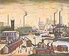 L-S-Lowry : Canal & Factories : $389