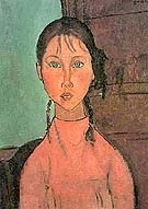 Amedeo Modigliani : Girl In Pink : $339