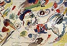 Wassily Kandinsky : Aquarelle Abstraite 1910 : $365