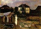 Edvard Munch : The Storm : $399