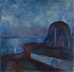 Edvard Munch : Starry Night : $345