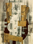 Georges Braque : Fruit Dish and Ace of Clubs 1913 : $369