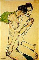 Egon Schiele : Freundschaft : $399