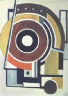 Fernand Leger : Circular Composition 1928 : $369