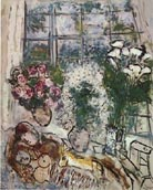 Marc Chagall : White Window : $369