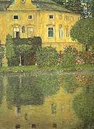 Gustav Klimt : Schloss Kammer on the Attersee IV : $345