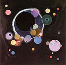 Wassily Kandinsky : Several Circles 1926 : $355