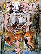 Willem De Kooning : Woman 1 1950 1952 : $369