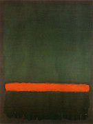 Mark Rothko : No 15 Two Greens and Red Stripe 1964 : $395