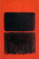 Mark Rothko : Light Red Over Black 1957 : $405