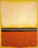 Mark Rothko : No 25 Red Gray White on Yellow 1951 : $365