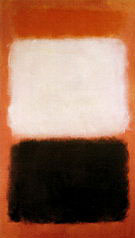 Mark Rothko : The Black and the White 1956 : $395