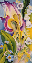 Georgia O'Keeffe : From the Old Garden No 2 1924 : $369