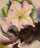 Georgia O'Keeffe : Petunia and Coleus 1924 : $365