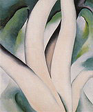 Georgia O'Keeffe : Birch Trees 1925 : $365
