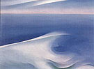 Georgia O'Keeffe : Blue Wave Maine 1926 : $385