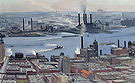 Georgia O'Keeffe : River New York 1928 : $409