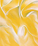 Georgia O'Keeffe : Last Yellow White Birch 1928 : $369