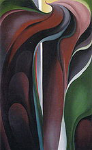 Georgia O'Keeffe : Jack in Pulpit Abstraction No 5 1930 : $369