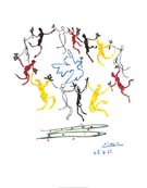 Pablo Picasso : Dance of Youth : $369