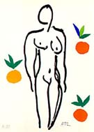 Pablo Picasso : Nude with Oranges : $365